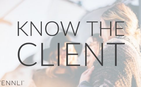 Do you know your client?