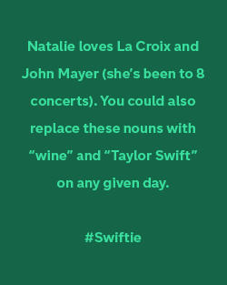 Natalie Quote