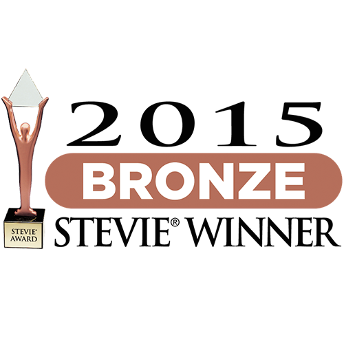 2015 Stevie® Award Winner - Bronze