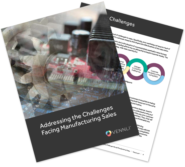 Ebook - Addressing the Challenges Facing Manufacturing Sales