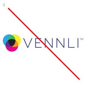 Do not recolor the logo.